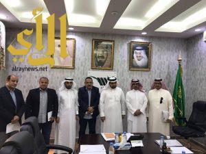 وكيل جامعة بيشه يستقبل وفد المستشفى السعودي الألماني