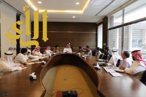 تنسيق مشترك يجمع بلدية الخبر  وعدة جهات لمناقشة خطة الأمطار