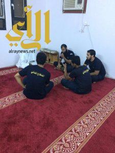 افتتاح حلقات لتحفيظ القرآن الكريم لمنسوبي الدفاع المدني ببيش