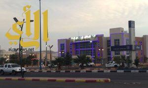 افتتاح مركز خدمات بلديه بمركز الحيمه ببللحمر