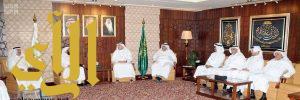 بحث الخدمات المقدمة لـ 8 آلاف حاج كويتي مع رئيس مطوفي حجاج الدول العربية