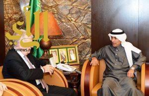 وكيل وزارة الداخلية يستقبل مدير المعهد الملكي للعلاقات الدولية ببروكسيل