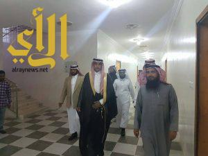 ابو سراح يتفقد مشاريع جمعية البر بخثعم