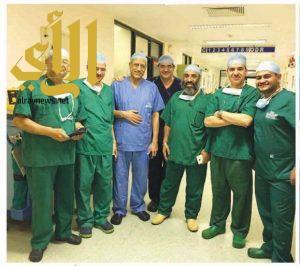 ورشة عمل لعلاج دوالي الساقين بمستشفى السعودي الألماني 