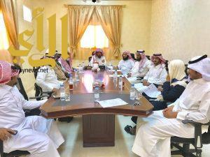 مدير مكتب المساجد بالحرجة يعقد الاجتماع الدوري بمراقبي المساجد