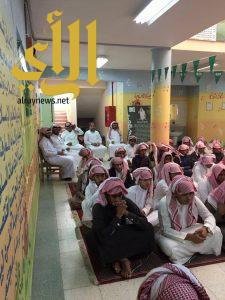 ثانوية الملك سعود تنظم برنامجًا حول أسبوع المرور الخليجي الـ 33