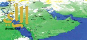 هطول أمطار رعدية على مناطق شمال ووسط وشرق المملكة