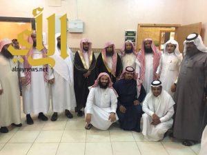 مدير عام فرع وزارة الشؤون الاسلاميه بـ عسير يزور مكتب المساجد والدعوة والارشاد بـ الحرجة