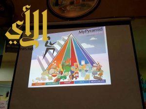 نادي الحي بالابتدائية ٢٨ بمكة يقيم برنامج من سيربح السباق