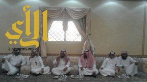 زيارة للرقيب المصاب عوض علي القحطاني من شرطة محافظة طريب