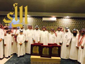 فريق متابعة متطلبات محافظة الحرجة يقيم حفلاً بالرياض