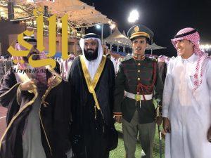 الملازم محمد القرني يحتفل بتخرجه من كلية الملك عبدالله للدفاع الجوي