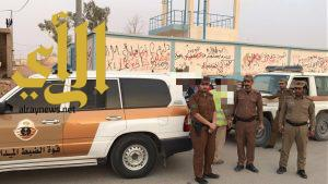 شرطة منطقة الجوف تواصل حملات وطن بلا مخالف