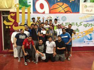 فريق جنوى بطلاً لدوري كرة الطائرة بنادي حي ابن النفيس بالخرج