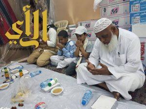 كشافة مفوضية الخبر تساهم في تفطير الصائمين بمسجد سعد بن أبي وقاص بالخبر