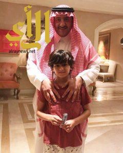 """الأمير محمد بن نايف في أحدث صورة مع """"حفيده"""""""