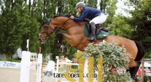 آخر تحديث: الثلاثاء 1 يونيو 2010, 3:48 م      * *  الرياضة  الفارس الدهامي يطير بلقب الجائزة الكبرى بباريس