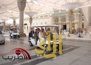 الانتهاء من مشروع خادم الحرمين الشريفين لزيادة توسعة ساحات المسجد النبوي الشريف