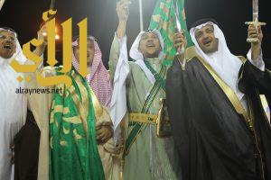 محافظ وأهالي حريملاء يحتفلون بعيد الفطرالمبارك