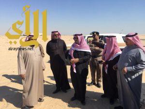 محافظ الخفجي يرافقه رئيس بلدية الخفجي يتفقدان مركز السفانية