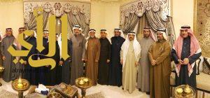 العميد عسيري يحتفل بأعضاء مجلس الشورى