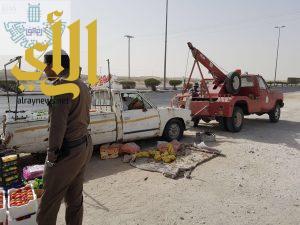 بلدية بقيق تزيل 13 سيارة تالفة من شوارع المحافظة