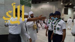 600 كشاف من مركز بادر يساهمون في خدمة المعتمرين والمصلين