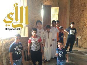 نادي الحي بثانوية ابن النفيس في زيارة سياحية للعين