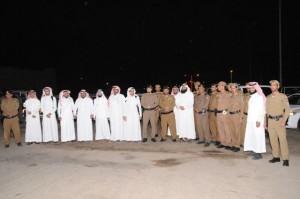 شرطة منطقة الجوف تقوم بحملة أمنية مشتركة بمدينة سكاكا