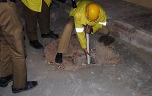 القصيم : وفاة طفل بعد سقوطه في حفرة صرف صحي