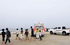 وفاة شخص بحادث دهس في شاطئ نصف القمر