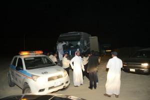 غرب الدمام : ضبط 120 شاحنة وشيول لنهل الرمال