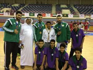 الكشافة تشارك في تنظيم البطولة الثانية للألعاب الرياضية الخليجية