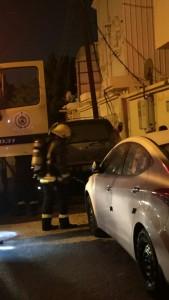 مدني خميس مشيط يخمد حريق اشتعل بمنزل بحي الرونة