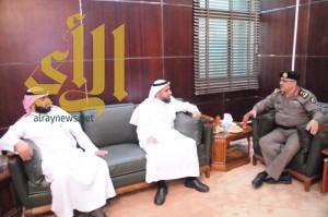 مدير شرطة الجوف يستقبل القنصل العام لجمهورية مصر العربية