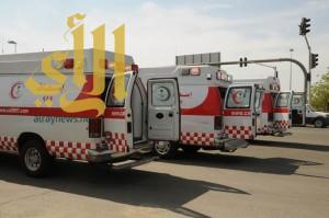 الهلال الأحمر بتبوك ينقل 712 حالة لمستشفيات المنطقة خلال 15 يوماً