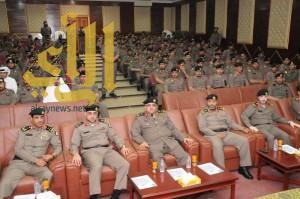 مدير شرطة الجوف يكرم عدداً من ضباط وأفراد دوريات الأمن
