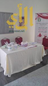 """""""تقنية البنات"""" تنظم حملة للتبرع بالدم"""