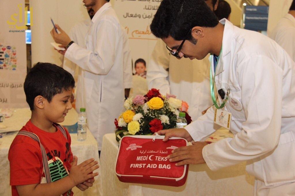 نجاح المرحلة الثانية من برنامج التطوع الصحي1