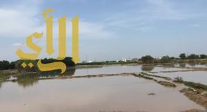 أمطار غزيرة على منطقة جازان