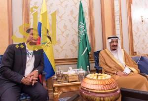 خادم الحرمين الشريفين يلتقي رئيس الإكوادور