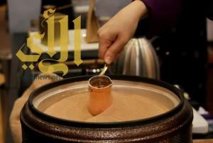 """معرض """" القهوة والشوكولاته """" يحتضن إبداعات سعودية في فنون القهوة"""