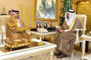 أمير القصيم يستقبل مدير عام الخدمات الطبية بوزارة الداخلية