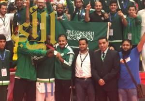 لاعب أخضر الكاراتيه طارق حامدي يحقق ذهبية العالم