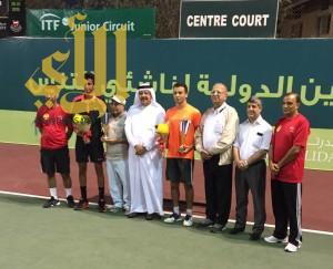 اللاعب عمار الحقباني يكتفي بفضية دولية ببطولة البحرين