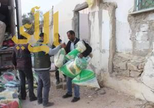 أكثر من 7 آلاف قطعة شتوية وزعتها الحملة الوطنية السعودية لنصرة الأشقاء في سوريا