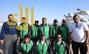 المنتخب السعودي يحقق المركز الأول في عربية صيد الأسماك