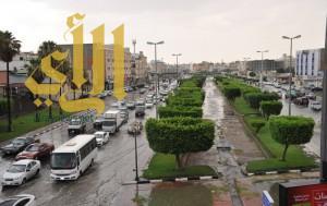 أمطار الخير والبركة تعم أرجاء محافظة الطائف