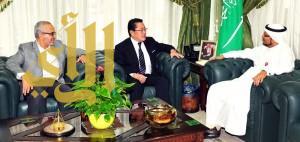 القنصل الياباني بجدة يزور الهيئة الملكية بينبع