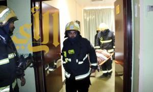 مدني العاصمة المقدسة ينفذ تجربة فرضية بأحد المستشفيات